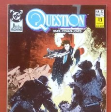 Cómics: THE QUESTION 23 POR DENNY O'NEIL, DENYS COWAN - EDICIONES ZINCO (1989). Lote 82883422