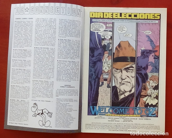 Cómics: The Question 23 por Denny ONeil, Denys Cowan - Ediciones Zinco (1989) - Foto 3 - 82883422