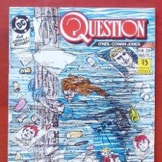 Cómics: THE QUESTION 24 POR DENNY O'NEIL, DENYS COWAN - EDICIONES ZINCO (1989). Lote 82892711