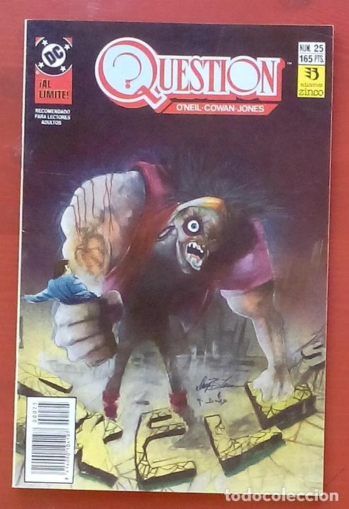 THE QUESTION 25 POR DENNY O'NEIL, DENYS COWAN - EDICIONES ZINCO (1989) (Tebeos y Comics - Zinco - Question)