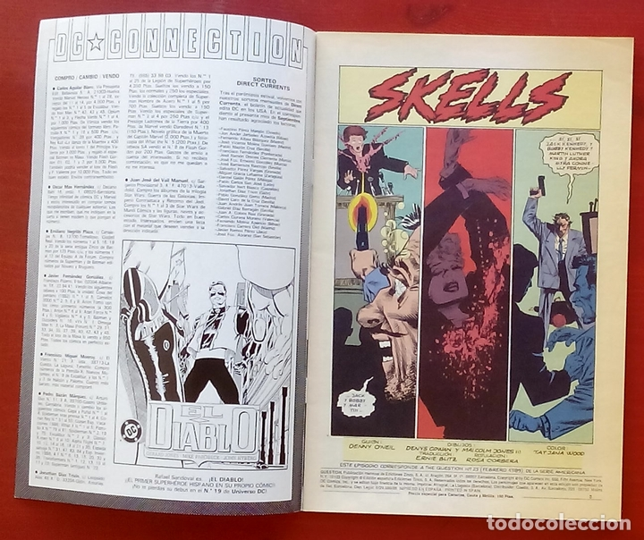 Cómics: The Question 25 por Denny ONeil, Denys Cowan - Ediciones Zinco (1989) - Foto 3 - 82892756