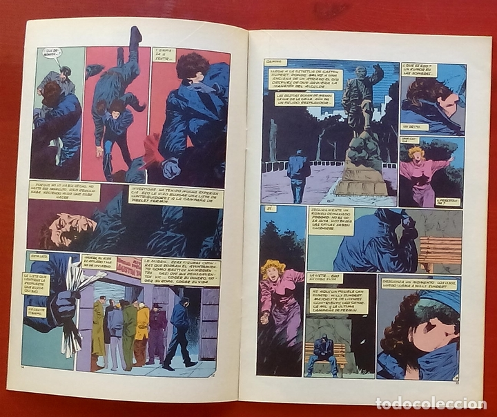 Cómics: The Question 25 por Denny ONeil, Denys Cowan - Ediciones Zinco (1989) - Foto 4 - 82892756