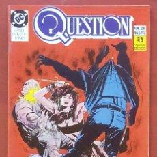 Cómics: THE QUESTION 28 POR DENNY O'NEIL, DENYS COWAN - EDICIONES ZINCO (1989). Lote 82892862