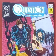 Cómics: THE QUESTION 29 POR DENNY O'NEIL, DENYS COWAN - EDICIONES ZINCO (1990). Lote 82892904