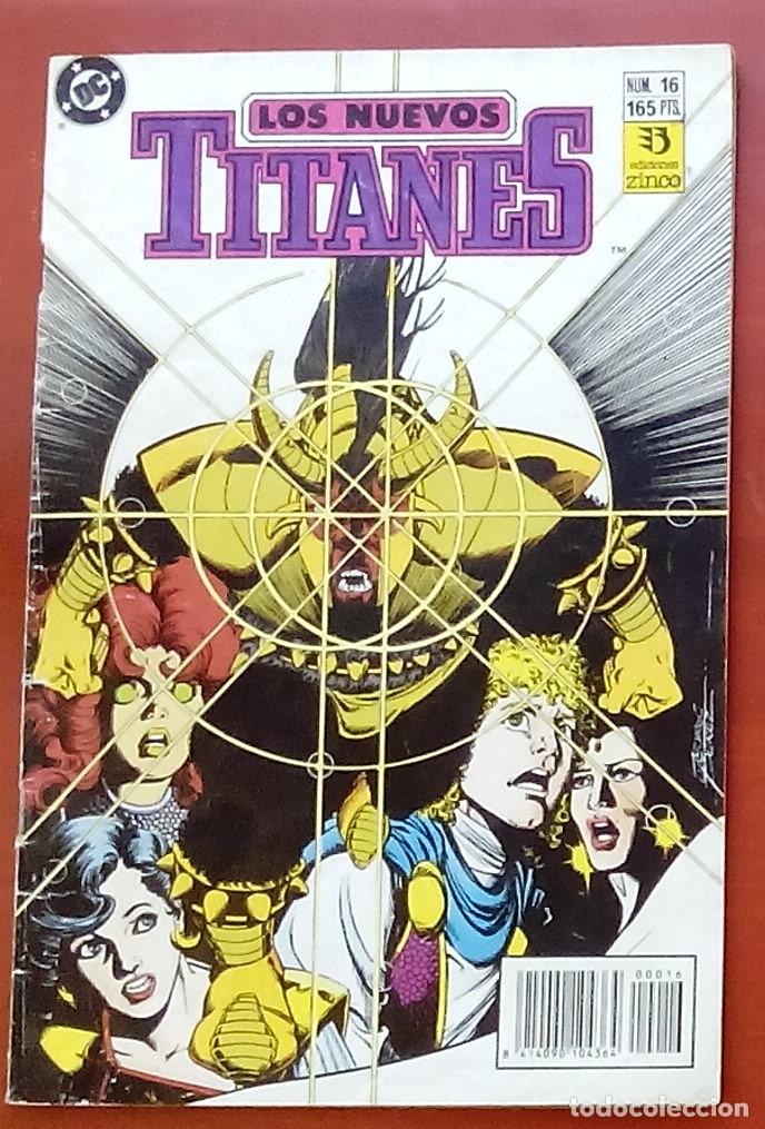 NUEVOS TITANES VOL.2 Nº16 POR MARV WOLFMAN, GEORGE PÉREZ - EDICIONES ZINCO (1990) (Tebeos y Comics - Zinco - Nuevos Titanes)