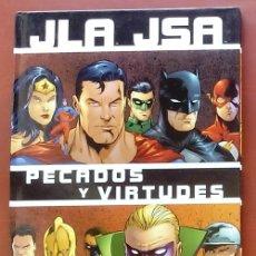 Cómics: JLA / JSA: PECADOS Y VIRTUDES POR DAVID GOYER, GEOFF JOHNS, CARLOS PACHECO - NORMA COMICS (2003). Lote 82896059
