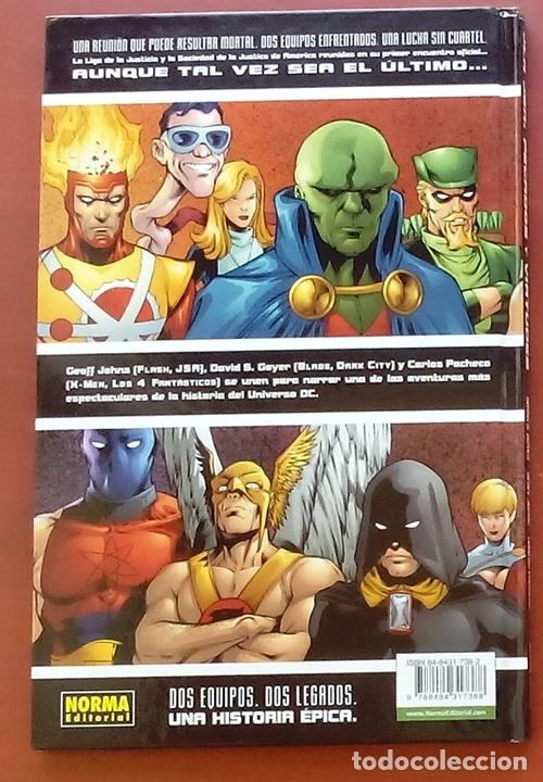 Cómics: JLA / JSA: Pecados y Virtudes por David Goyer, Geoff Johns, Carlos Pacheco - Norma Comics (2003) - Foto 2 - 82896059