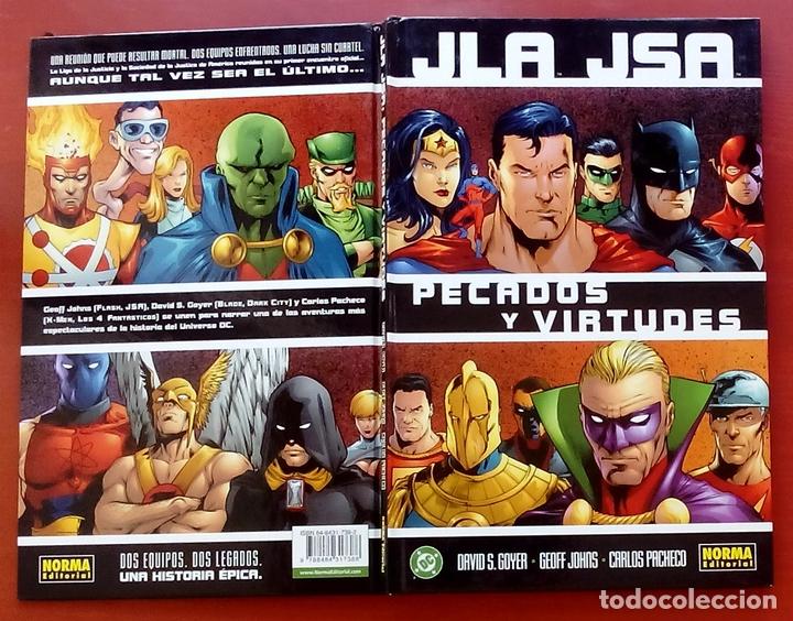 Cómics: JLA / JSA: Pecados y Virtudes por David Goyer, Geoff Johns, Carlos Pacheco - Norma Comics (2003) - Foto 3 - 82896059