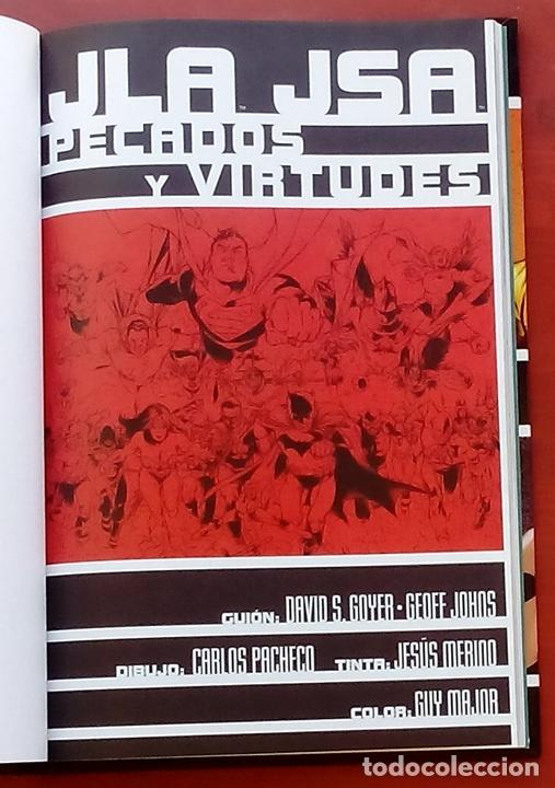 Cómics: JLA / JSA: Pecados y Virtudes por David Goyer, Geoff Johns, Carlos Pacheco - Norma Comics (2003) - Foto 4 - 82896059