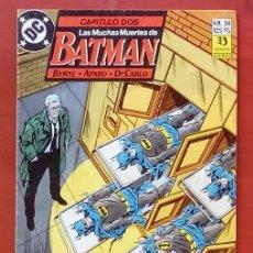 Cómics: BATMAN VOL.2 Nº34 POR JOHN BYRNE, JIM APARO - EDICIONES ZINCO (1990). Lote 82976475
