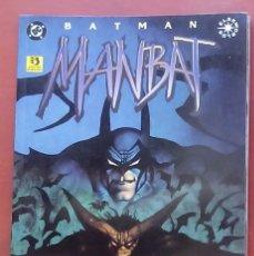 Cómics: BATMAN: MANBAT- LIBRO TRES POR JAIME DELANO, JOHN BOLTON - EDICIONES ZINCO (1996). Lote 82978074