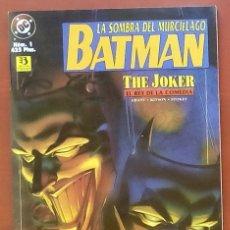 Cómics: BATMAN: LA SOMBRA DEL MURCIÉLAGO Nº1 POR ALAN GRANT, BARRY KITSON - EDICIONES ZINCO (1996). Lote 82978918