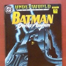 Cómics: BATMAN - DEVILS ASYLUM POR ALANT GRANT, BRIAN STEELFREEZE, RICK BURCHETT - EDICIONES ZINCO (1996). Lote 82979059