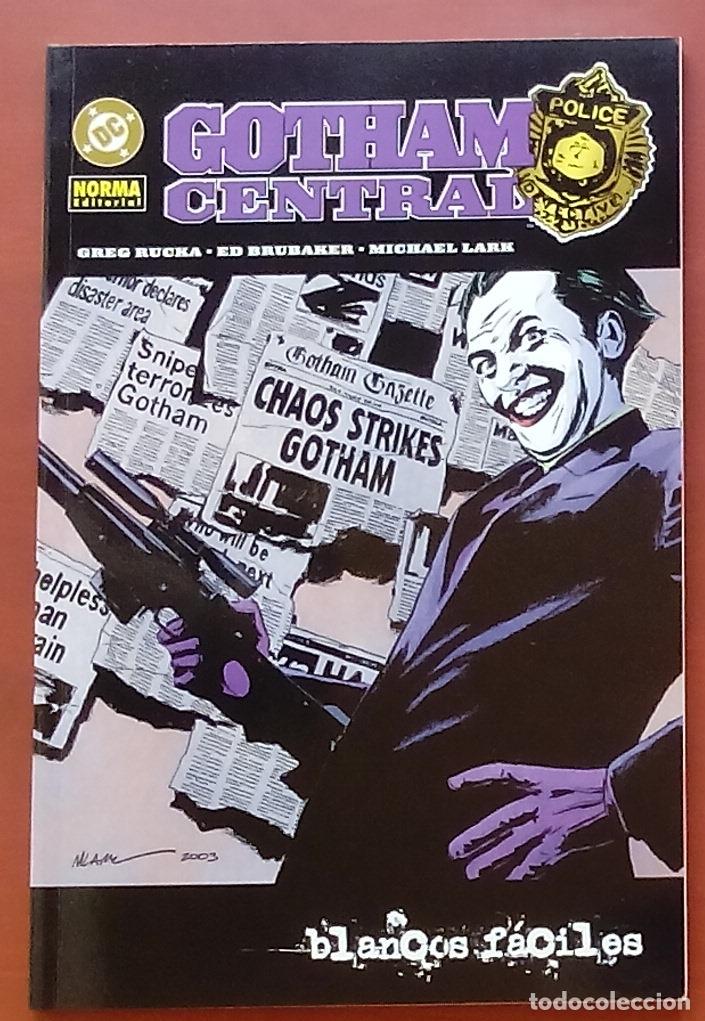 GOTHAM CENTRAL: BLANCOS FÁCILES POR ED BRUBAKER, HURTT, GREG RUCKA, LARK - NORMA(2005) (Tebeos y Comics - Zinco - Batman)