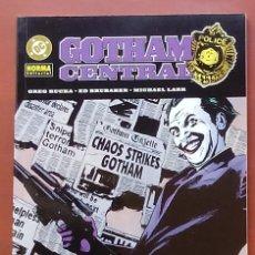 Comics: GOTHAM CENTRAL: BLANCOS FÁCILES POR ED BRUBAKER, HURTT, GREG RUCKA, LARK - NORMA(2005). Lote 82979600