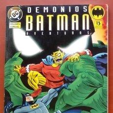 Cómics: BATMAN AVENTURAS: DEMONIOS POR PAUL DINI, BRUCE TIMM, KLAUS JANSON, BYRNE, MURAKAMI-ZINCO(1996). Lote 82980088