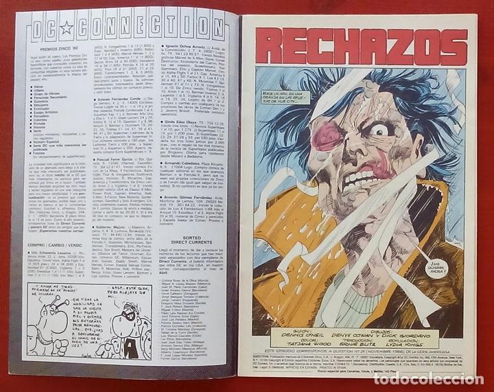 Cómics: The Question 21 por Denny ONeil, Denys Cowan - Ediciones Zinco (1989) - Foto 3 - 82883312