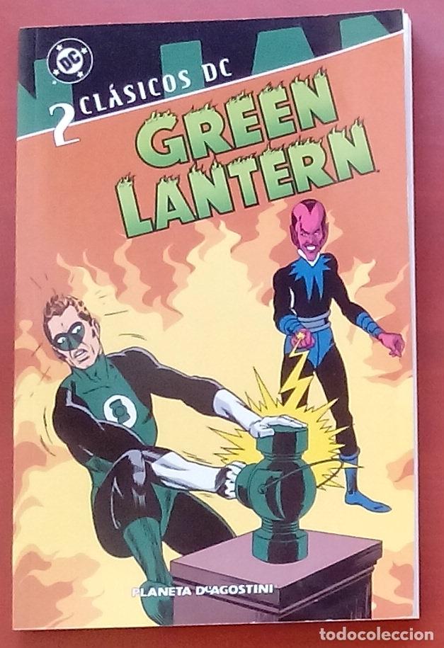 CLÁSICOS DC: GREEN LANTERN Nº2 POR BROOME, GIL KANE, SEKOWSKY, ANDRU, INFANTINO - PLANETA(2007) (Tebeos y Comics - Zinco - Liga de la Justicia)