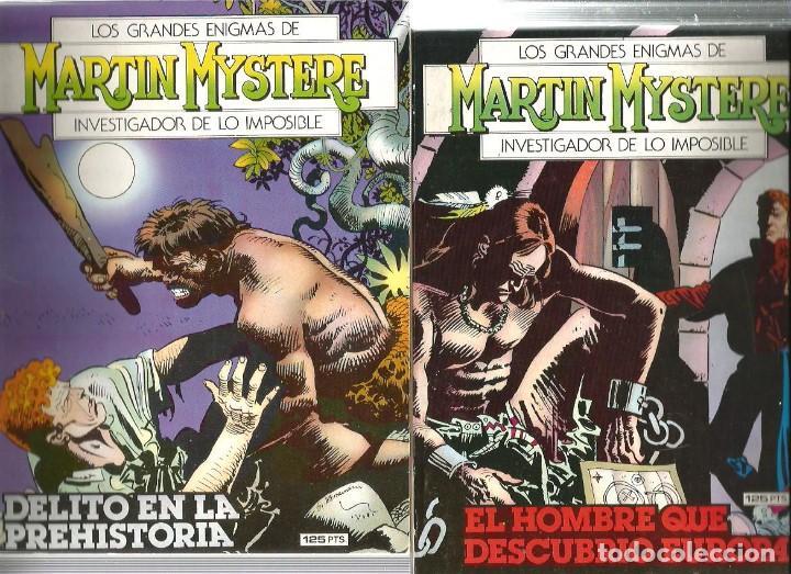 LOS GRANDES ENIGMAS DE MARTIN MYSTERE ( LOTE DE 4 NÚMEROS) (Tebeos y Comics - Zinco - Otros)
