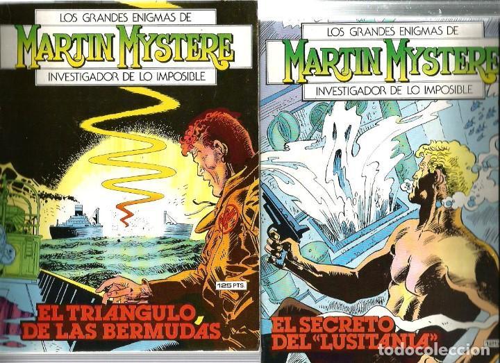 Cómics: LOS GRANDES ENIGMAS DE MARTIN MYSTERE ( LOTE DE 4 NÚMEROS) - Foto 2 - 83042848