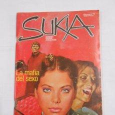 Cómics: SUKIA Nº 11. LA MAFIA DEL SEXO LA RIVAL.. COMIC PARA ADULTOS. TDKC23. Lote 83152200