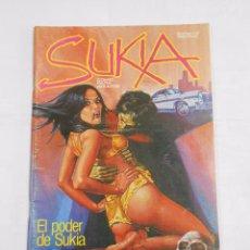 Cómics: SUKIA Nº 9. COMIC PARA ADULTOS. EL PODER DE SUKIA. LOS ANGELES NEGROS. TDKC23. Lote 83152392