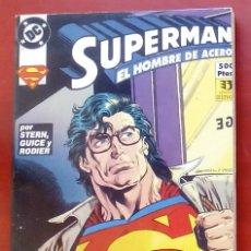 Cómics: SUPERMAN, EL HOMBRE DE ACERO Nº5 AL 8 -ZINCO (1994) (RETAPADO CON 4 NÚMEROS). Lote 83315912