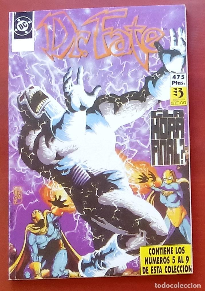 DR. FATE Nº5 A 9 POR J.M. DEMATTEIS, MCMANUS, FERN, SEMEIKS- ZINCO (1992) (RETAPADO CON 5 NÚMEROS) (Tebeos y Comics - Zinco - Retapados)