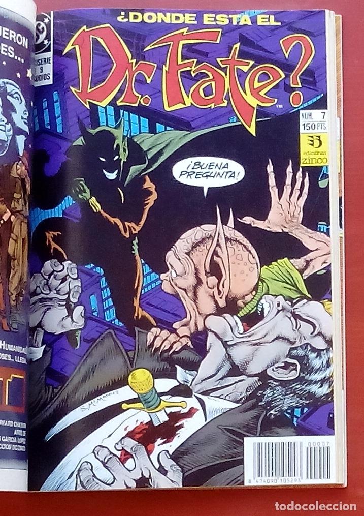 Cómics: Dr. Fate nº5 a 9 por J.M. DeMatteis, McManus, Fern, Semeiks- Zinco (1992) (Retapado con 5 números) - Foto 5 - 83320867