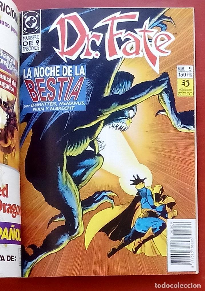 Cómics: Dr. Fate nº5 a 9 por J.M. DeMatteis, McManus, Fern, Semeiks- Zinco (1992) (Retapado con 5 números) - Foto 7 - 83320867