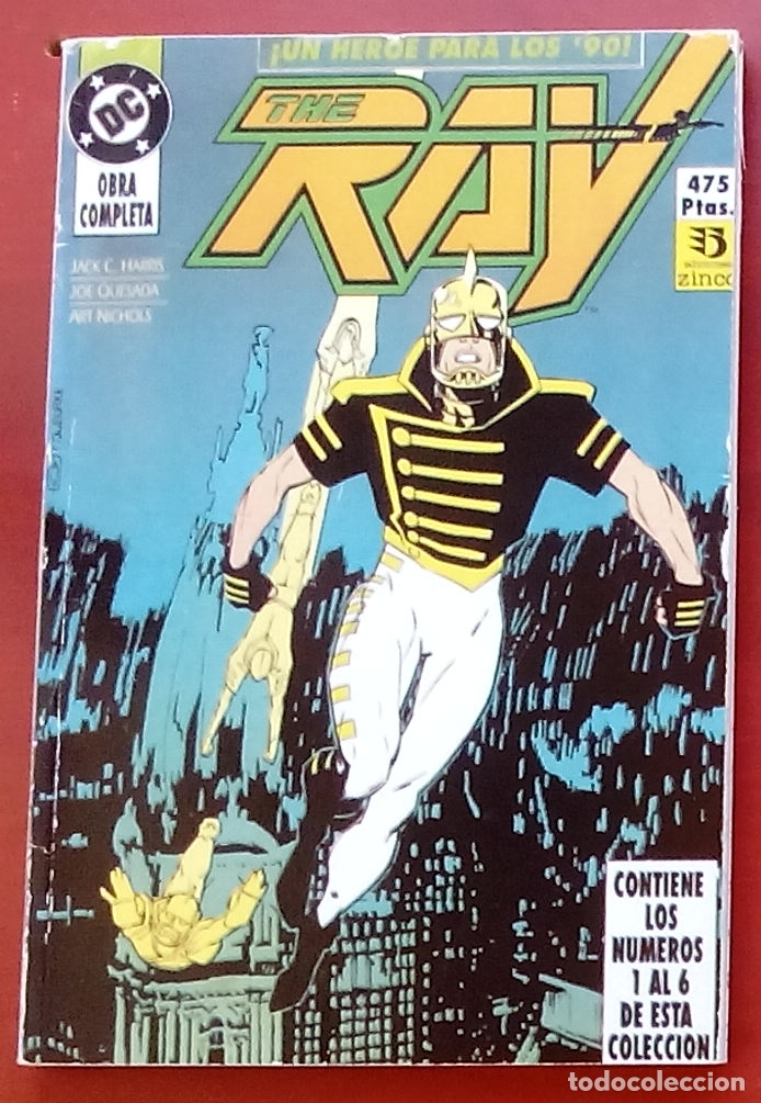 Cómics: The Ray nº1 a 6 -COMPLETA- por Joe Quesada, Jack C. Harris - Zinco (1992) (Retapado con 6 números) - Foto 1 - 83322800