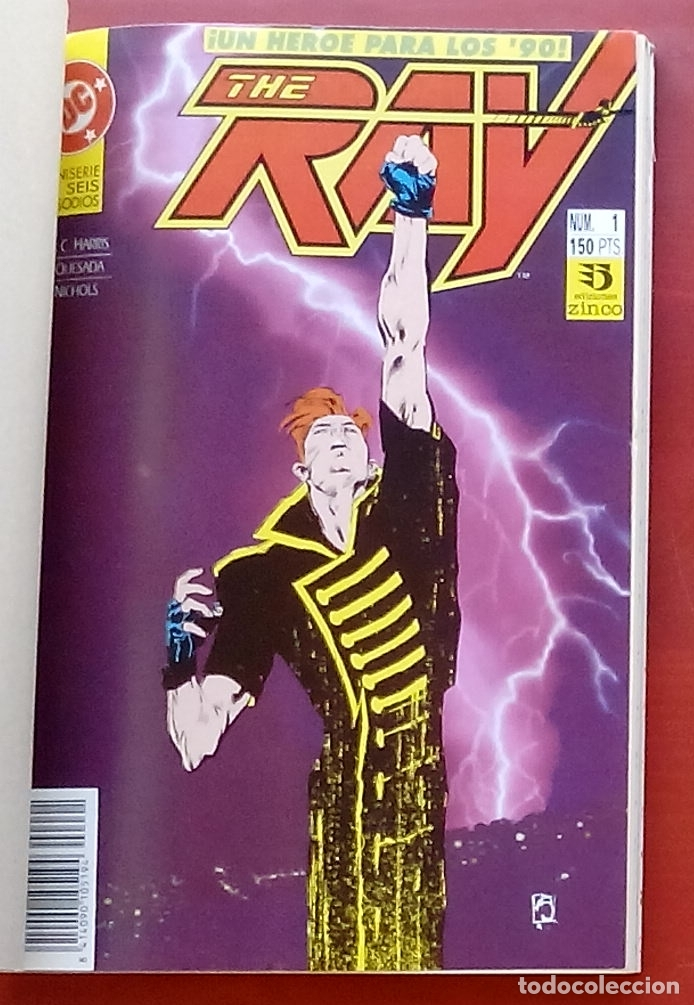 Cómics: The Ray nº1 a 6 -COMPLETA- por Joe Quesada, Jack C. Harris - Zinco (1992) (Retapado con 6 números) - Foto 3 - 83322800