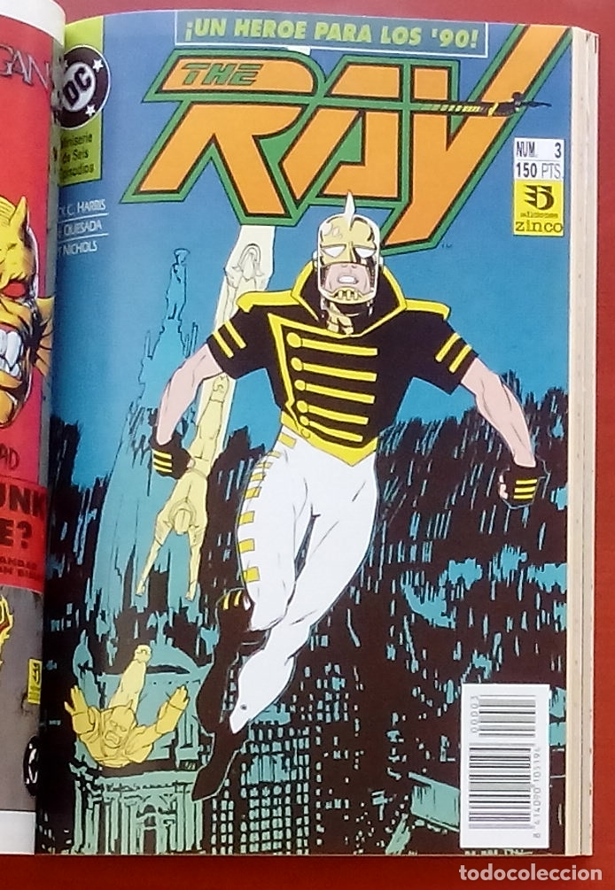 Cómics: The Ray nº1 a 6 -COMPLETA- por Joe Quesada, Jack C. Harris - Zinco (1992) (Retapado con 6 números) - Foto 5 - 83322800