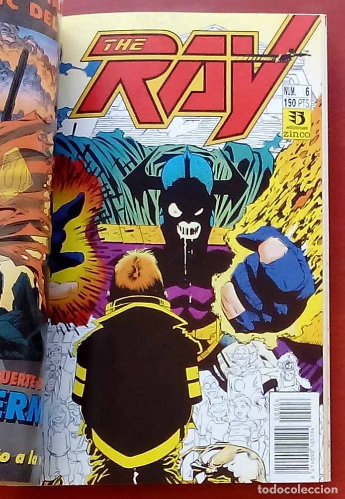 Cómics: The Ray nº1 a 6 -COMPLETA- por Joe Quesada, Jack C. Harris - Zinco (1992) (Retapado con 6 números) - Foto 8 - 83322800