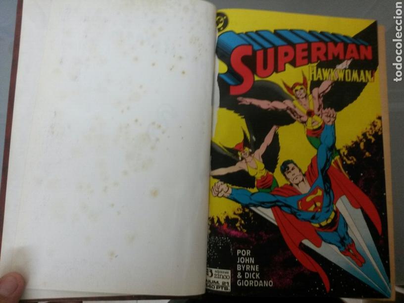 SUPERMAN ZINCO DC 1987 VOL. ENCUADERNADO NO 21 AL 40 (Tebeos y Comics - Zinco - Superman)