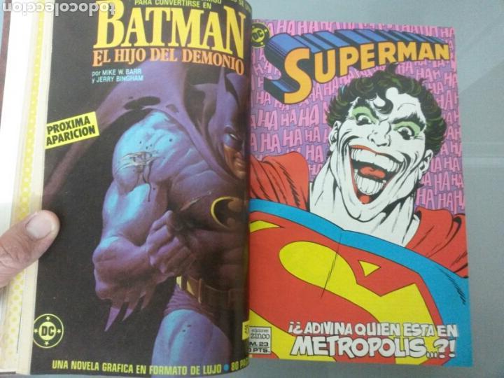 Cómics: SUPERMAN ZINCO DC 1987 Vol. ENCUADERNADO No 21 al 40 - Foto 3 - 83460675
