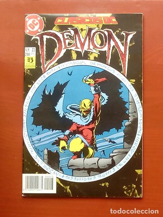 CLASICOS DC 23: DEMON 1 Y COSA DEL PANTANO 22 POR M. WAGNER, ALAN MOORE, BISSETTE- ZINCO (1987) (Tebeos y Comics - Zinco - Cosa del Pantano)