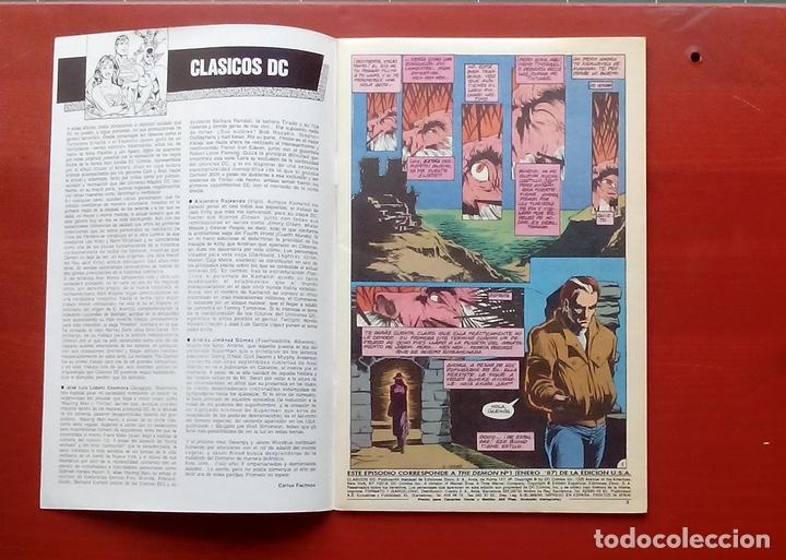 Cómics: Clasicos DC 23: Demon 1 y Cosa del Pantano 22 por M. Wagner, Alan Moore, Bissette- Zinco (1987) - Foto 3 - 83588612