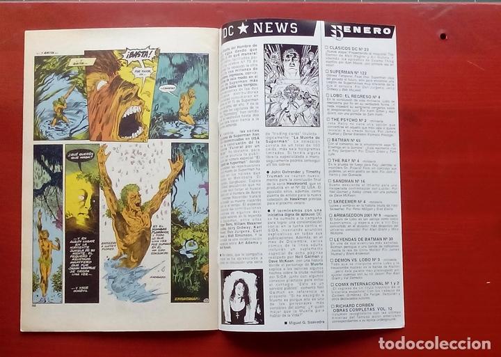 Cómics: Clasicos DC 23: Demon 1 y Cosa del Pantano 22 por M. Wagner, Alan Moore, Bissette- Zinco (1987) - Foto 9 - 83588612