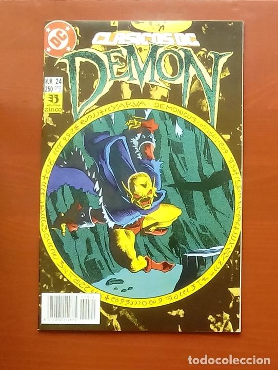 CLASICOS DC 24: DEMON 2 Y COSA DEL PANTANO 23 POR MATT WAGNER, ALAN MOORE, BISSETTE-ZINCO (1987) (Tebeos y Comics - Zinco - Cosa del Pantano)