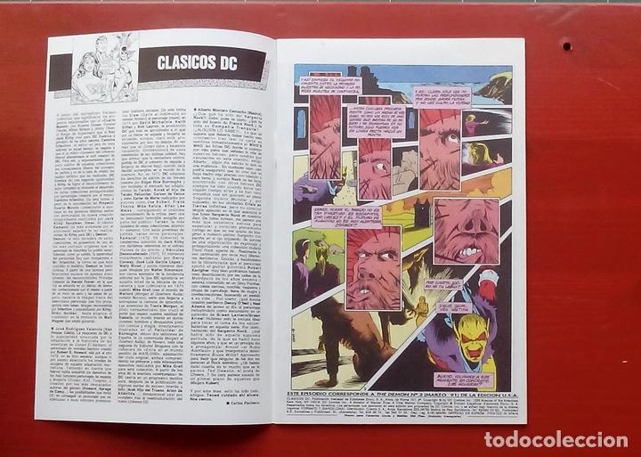 Cómics: Clasicos DC 24: Demon 2 y Cosa del Pantano 23 por Matt Wagner, Alan Moore, Bissette-Zinco (1987) - Foto 3 - 83588939