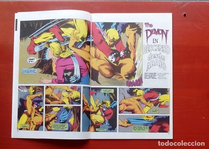 Cómics: Clasicos DC 24: Demon 2 y Cosa del Pantano 23 por Matt Wagner, Alan Moore, Bissette-Zinco (1987) - Foto 4 - 83588939