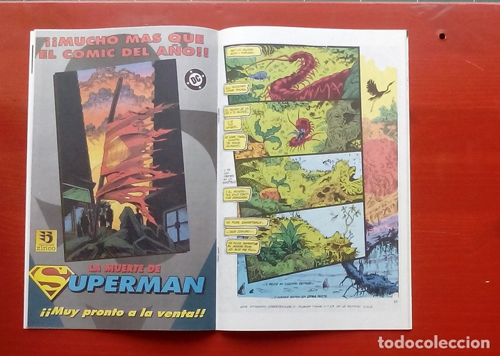 Cómics: Clasicos DC 24: Demon 2 y Cosa del Pantano 23 por Matt Wagner, Alan Moore, Bissette-Zinco (1987) - Foto 6 - 83588939