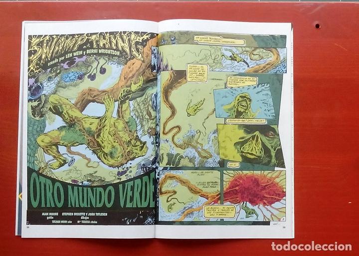Cómics: Clasicos DC 24: Demon 2 y Cosa del Pantano 23 por Matt Wagner, Alan Moore, Bissette-Zinco (1987) - Foto 7 - 83588939