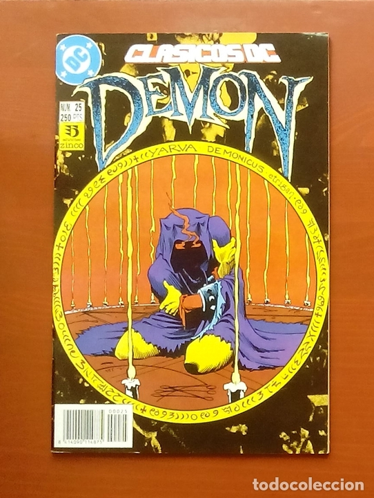 CLASICOS DC 25: DEMON 3 Y COSA DEL PANTANO 24 POR MATT WAGNER, ALAN MOORE, BISSETTE-ZINCO (1987) (Tebeos y Comics - Zinco - Cosa del Pantano)