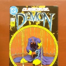 Cómics: CLASICOS DC 25: DEMON 3 Y COSA DEL PANTANO 24 POR MATT WAGNER, ALAN MOORE, BISSETTE-ZINCO (1987). Lote 83589196