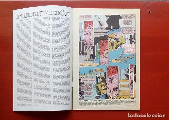 Cómics: Clasicos DC 25: Demon 3 y Cosa del Pantano 24 por Matt Wagner, Alan Moore, Bissette-Zinco (1987) - Foto 3 - 83589196