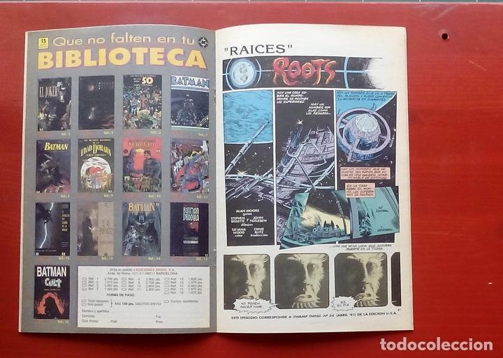 Cómics: Clasicos DC 25: Demon 3 y Cosa del Pantano 24 por Matt Wagner, Alan Moore, Bissette-Zinco (1987) - Foto 7 - 83589196