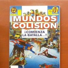 Cómics: MUNDOS EN COLISIÓN LIBRO UNO - EDICIONES ZINCO (1995). Lote 83589656