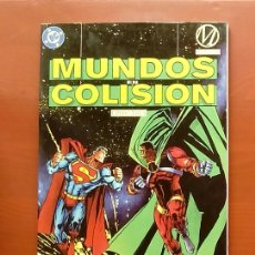 Cómics: MUNDOS EN COLISIÓN LIBRO TRES - EDICIONES ZINCO (1995). Lote 83589874
